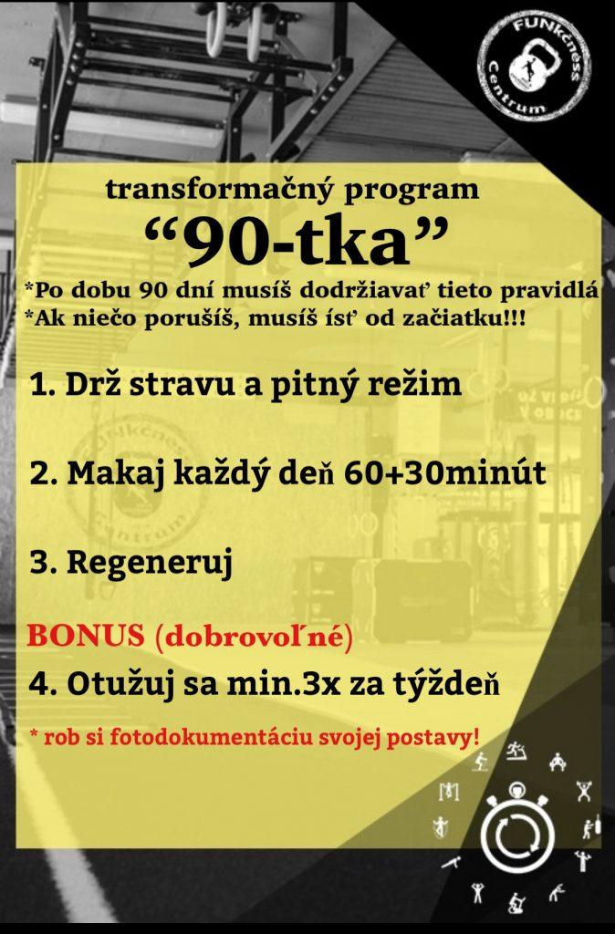 """Transformačný program """"90tka"""""""
